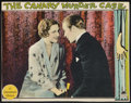 "Movie Posters:Crime, The Canary Murder Case (Paramount, 1929). Lobby Card (10.25"" X13""). Crime.. ..."