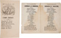 Political:Small Paper (pre-1896), Abraham Lincoln and George B. McClellan: Multiple Ballots....(Total: 2 Items)