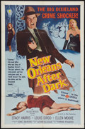 """Movie Posters:Crime, New Orleans After Dark (Allied Artists, 1958). One Sheet (27"""" X41""""). Crime.. ..."""