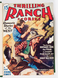 Pulps:Western, Thrilling Ranch Stories Bound Volume (Rugby House Inc., 1933-34)....
