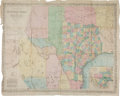Miscellaneous:Maps, Willard Richardson: New Map of the State of Texas Including Partof Mexico, 1859....