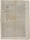 Miscellaneous:Newspaper, [Civil War] The Daily True Delta Newspaper....