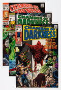 Silver Age (1956-1969):Horror, Chamber of Darkness Group - Savannah pedigree (Marvel, 1969-70)Condition: Average VF/NM.... (Total: 5 Comic Books)