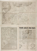 Miscellaneous:Newspaper, [Civil War] Frank Leslie's War Maps, and Companion to theNewspaper....