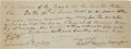 "Autographs:U.S. Presidents, William Henry Harrison Autograph Document Signed ""William HenryHarrison"" as Governor of Indiana Territory...."
