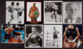 Boxing Collectibles:Autographs, Boxing Legends Signed Photographs Lot of 8....