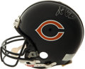 """Football Collectibles:Helmets, Walter Payton Signed Full Size """"Authentic"""" Chicago Bears Helmet. ..."""