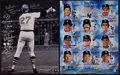Baseball Collectibles:Photos, Boston Red Sox and New York Yankees Multi Signed OversizedPhotographs Lot of 2. ...