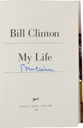 Books:Biography & Memoir, Bill Clinton Signed My Life....