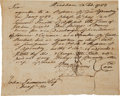 "Military & Patriotic:Revolutionary War, [Revolutionary War] Jedediah Huntington Court Martial DocumentSigned ""Huntington""...."
