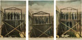 Photography:Official Photos, Western Hanging Photos: Set of 1904 Postcards....