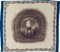 Political:3D & Other Display (pre-1896), Henry Clay: Awesome Silk Campaign Handkerchief....