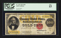Large Size:Gold Certificates, Fr. 1215 $100 1922 Gold Certificate PCGS Fine 15.. ...