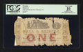 Obsoletes By State:Louisiana, New Orleans, LA- Hall & Briscoe $1 Feb. 1, 1862 . ...