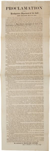 Miscellaneous:Broadside, New Orleans Occupation Broadside: Benjamin F. ButlerProclamation...