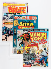 Comic Books - Assorted Bronze Age Comics Group (Various Publishers, 1970s) Condition: Average VF.... (Total: 25 Comic Bo...