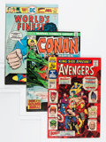 Silver Age (1956-1969):Superhero, Marvel/DC Group (Marvel/DC, 1960s-'70s) Condition: Average VG+.... (Total: 25 Comic Books)