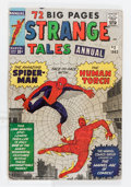 Silver Age (1956-1969):Superhero, Strange Tales Annual #2 (Marvel, 1963) Condition: GD/VG....