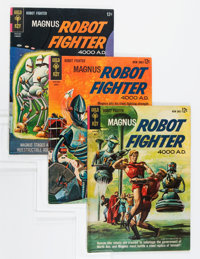 Magnus Robot Fighter Group (Gold Key, 1963-75) Condition: Average VF.... (Total: 4 Comic Books)