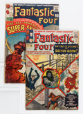 Silver Age (1956-1969):Superhero, Fantastic Four #17 and 18 Group (Marvel, 1963) Condition: Average VG.... (Total: 2 Comic Books)