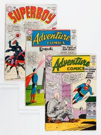Superboy-Related Group (DC, 1962-76).... (Total: 5 Comic Books)