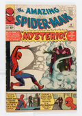 Silver Age (1956-1969):Superhero, The Amazing Spider-Man #13 (Marvel, 1964) Condition: VG-....
