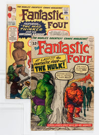 Fantastic Four #12 and 15 Group (Marvel, 1963).... (Total: 2 Comic Books)
