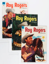 Roy Rogers Comics Group (Dell, 1951-57) Condition: Average FN/VF.... (Total: 17 Comic Books)