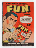 Golden Age (1938-1955):Superhero, Captain Marvel's Fun Book #nn (Samuel Lowe Co., 1944) Condition: VG/FN....