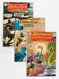 Silver Age (1956-1969):Superhero, Detective Comics Group (DC, 1960-64) Condition: Average VG.... (Total: 10 Comic Books)