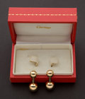 Estate Jewelry:Cufflinks, Cartier 14k Gold Cufflinks. ...