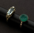 Estate Jewelry:Rings, Two Antique Rings. ... (Total: 2 Items)