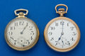 Timepieces:Pocket (post 1900), Two Howard 21 Jewels Series 11 Pocket Watches. ... (Total: 2 Items)