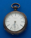 Timepieces:Pocket (pre 1900) , Rockford 18 Size Key Wind Pocket Watch. ...