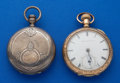 Timepieces:Pocket (pre 1900) , Two Waltham Key Winds, Models 57 and 79, 18 Size. ... (Total: 2Items)