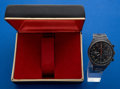 Timepieces:Wristwatch, LeJour Automatic Chronograph With Box. ...