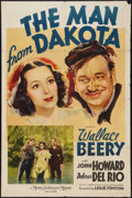 """Movie Posters:War, The Man from Dakota (MGM, 1940). One Sheet (27"""" X 41""""). Style C.War.. ..."""