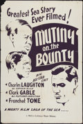 "Movie Posters:Academy Award Winners, Mutiny on the Bounty and Other Lot (MGM, 1935). Locally ProducedOne Sheet and One Sheet (27"" X 41""). Academy Award Winners...(Total: 2 Items)"