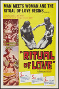 """Movie Posters:Documentary, Ritual of Love (Pacemaker, 1965). One Sheet (27"""" X 41""""). Documentary.. ..."""