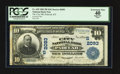 National Bank Notes:Kentucky, Paducah, KY - $10 1902 Plain Back Fr. 629 The City NB Ch. #(S)2093. ...