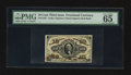 Fractional Currency:Third Issue, Fr. 1253 10¢ Third Issue PMG Gem Uncirculated 65 EPQ.. ...
