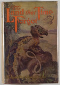Books:Science Fiction & Fantasy, [Jerry Weist]. Edgar Rice Burroughs. The Land That Time Forgot. New York: Grosset & Dunlap, [1924]. Later editio...