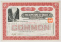 Antiques:Posters & Prints, Lot of Three Early 20th Century Railroad and Mining Stock Certificates, including: The Denver and Rio Grande Railroad Co...