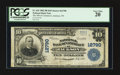 National Bank Notes:Tennessee, Jackson, TN - $10 1902 Plain Back Fr. 635 The NB of Commerce Ch. #12790. ...
