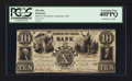 Obsoletes By State:Ohio, Sandusky, OH- Bank of Sandusky $10 Oct. 2, 1848 G8a Wolka 2382. ...