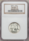 Barber Quarters, 1915 25C MS65 NGC....