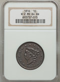 Large Cents, 1816 1C MS64 Brown NGC. N-2, R.1....