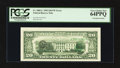 Error Notes:Third Printing on Reverse, Fr. 2082-L $20 1995 Federal Reserve Note. PCGS Very Choice New 64PPQ.. ...