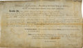 """Autographs:U.S. Presidents, Thomas Jefferson Land Grant Signed """"Th: Jefferson"""" and countersigned by James Madison as Secretary of State...."""