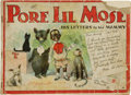 Platinum Age (1897-1937):Miscellaneous, Pore Lil Mose His Letters to His Mammy (Grand Union Tea Co., 1902)Condition: Poor....